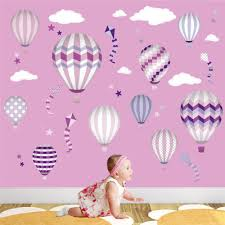 wall art stickers album on imgur pink hot air balloon wall stickers