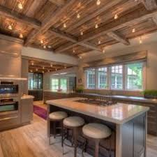 Kitchens With Track Lighting by Exposed Ceiling And Track Lighting Design Ideas Pictures Remodel