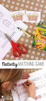 free printable nativity matching game my sister u0027s suitcase