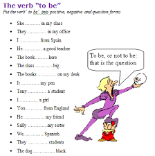 to be to be worksheet