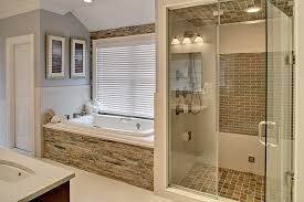 custom bathroom designs stand up shower and tub bathroom designs custom bath remodeling