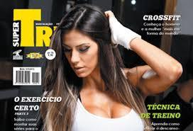 Popular Carol Saraiva é capa da revista Super Treino @XR34