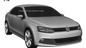 jetta volkswagen 2010 volkswagen jetta coupe patents design revealed