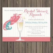 wedding brunch invitations bridal shower brunch invitation chagne brunch fancy hat