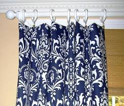 Blue And White Floral Curtains Navy Floral Curtains Howtolarawith Me