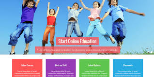 18 best free education html website templates 2017