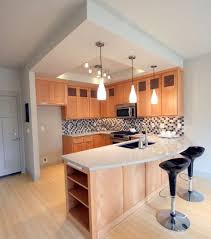 design for small kitchen spaces space saving ideas for small kitchens with small table space photo
