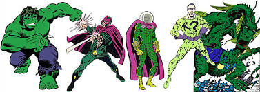 superhero color theory secondary characters