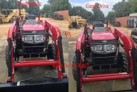 mahindra hydro vs gear transmission comparison youtube