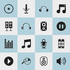 Seeking Song Set Of 16 Editable Song Icons Includes Symbols Such As Melody
