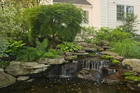 waterfalls cording landscape design