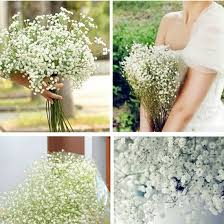 2016 new 10pcs lot beautiful gypsophila artificial fake silk