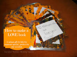 how to make a love book unique kids u0027 handmade gift