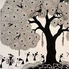 Warli Art Simple Designs Simple Warli Painting For Kids Google Search Warli Art