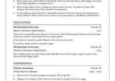 Sample Traditional Resume by Sections Your Resume Should Include Traditional Pages