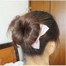 donut bun hair bun style hair styling pony maker