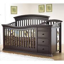 Convertible Crib And Changer Sorelle Verona 4 In 1 Convertible Crib Changer Espresso Jpg