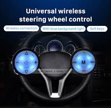 Radio Black Background Seicane Black Car Universal Wireless Multifunctional Steering