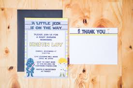 Star Wars Baby Shower Invitations - baby u2014 bon bini print u0026 design