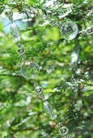 Decorate Christmas Tree Garland Beads by 6 U0027 Crystal Bead Garland Decoration Beaded Garland Garland
