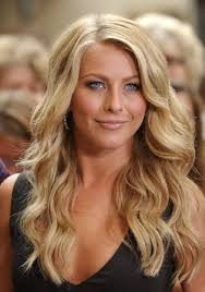 what kind of hairstyle does julienne huff have in safe haven julianne hough hairstyle sexy side parted long blonde soft curly