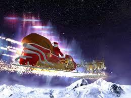 santa reindeer tree images santa claus sleigh ride christmas