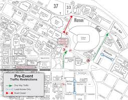 Colorado State University Campus Map by Gopher Football Gamedays Parking U0026 Transportation Services