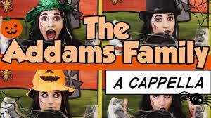 the addams family theme song a cappella cover meri amber youtube