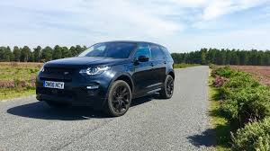 blue land rover discovery 2017 land rover discovery sport review