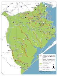 Galveston Island Map San Jacinto Brazos Coastal Basin Bacteria Reduction Project