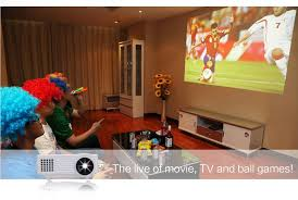 everycom ec 77 led projector 1800 lumens 3d hd hdmi pico