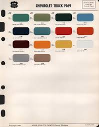 trying to pick a color for my 69 truck the 1947 present