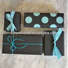 polka dot gift wrap blue black polka dots gift wrap paper wholesale for gifts buy