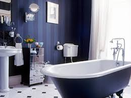 fantastic dark blue bathroom in home design ideas with dark blue