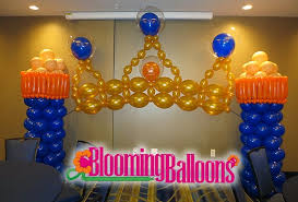 royalty themed baby shower blooming balloons welcome prince baby shower