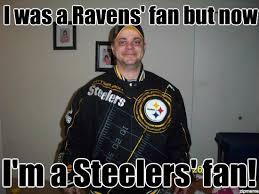 Ravens Steelers Memes - bandwagon stan i was a ravens fan but now i m a steelers fan