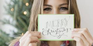 holiday rules christmas card etiquette