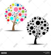abstract tree sticker wall decal vector photo bigstock abstract tree sticker wall decal