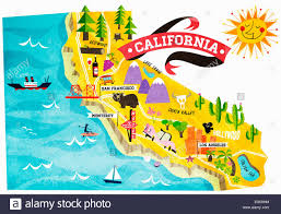 Zip Code Los Angeles Map by California Tourist Map Attractions California Map