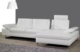 White Leather Sofa Modern White Leather Sofa Regarding Modern Idea 15 Visionexchange Co