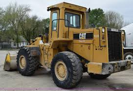 1986 caterpillar 950b wheel loader item h5135 sold may
