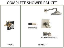 Shower Faucet Cartridge Types Delta Shower Faucets Faucetlist Com