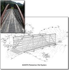 What Is Standard Handrail Height 0723 2329p Mtdc Trail Bridge Rail Systems