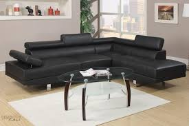 adjustable sectional sofa hollywood black faux leather adjustable sectional sofa with right
