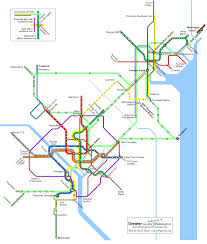 Dc Metro Map Overlay by Greater Baltimore U0026 Washington Transit Future Pocket Version