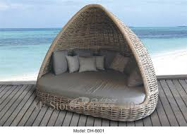 outdoor patio furniture rattan furniture rattan round bed outdoor