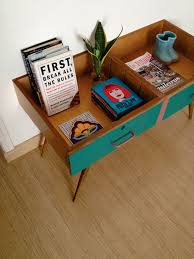 Build A Desk With Drawers Repurpose Two Drawers Into A Vintage Side Table Repurpose