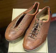 leather bike shoes derbyshire shoemaker u0027s retro cycling shoes complete the eroica