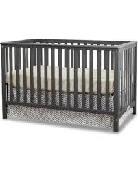 Fixed Side Convertible Crib Savings On Stork Craft Hillcrest Fixed Side Convertible Crib Gray