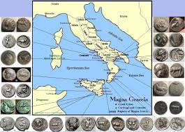 Map Of Ancient Greece by Map Of Magna Graecia